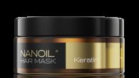 Maska do włosów Nanoil z keratyną